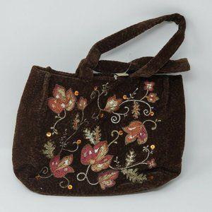 Bath & Body Works Velvety Brown Tote Bag
